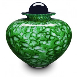 Gaïa Forest Green Urn