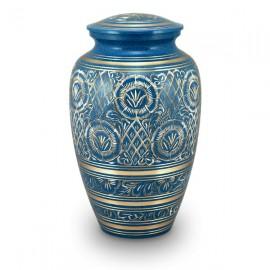 Nirvana Blue Cremation Urn