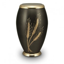 Golden Wheat Cremation Urn