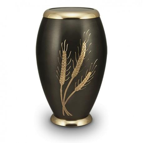 Golden Wheat Cremation Urn
