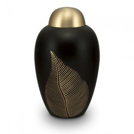 Gold Leaf Cremation Urn